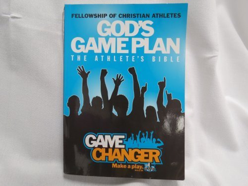 Gods Game Plan The Atheletes Bible Game Changer Make A Play 2011 syble groover