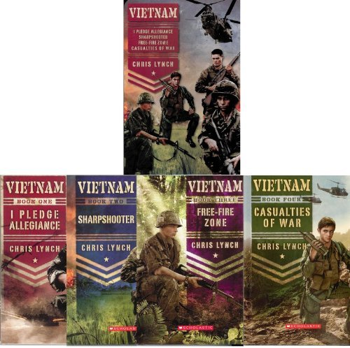 Vietnam Collectors Set / I Pledge Allegiance, Sharpshooter, Free-Fire Zone, and Casualties of War Chris Lynch