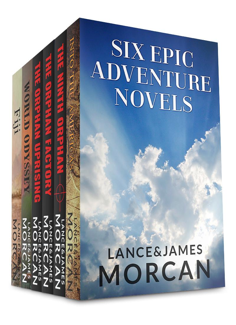Six Epic Adventure Novels  by  Lance Morcan