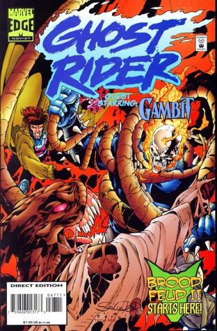 Ghost Rider / Gambit : Brood Feud  by  Howard Mackie