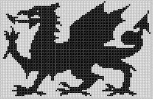 Dragon 3 Cross Stitch Pattern  by  NOT A BOOK