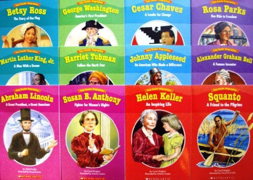 New Set 12 Levelled Biography Readers Scholastic Easy Reader Biographies Teachers Supplies Reading History Danielle Blood