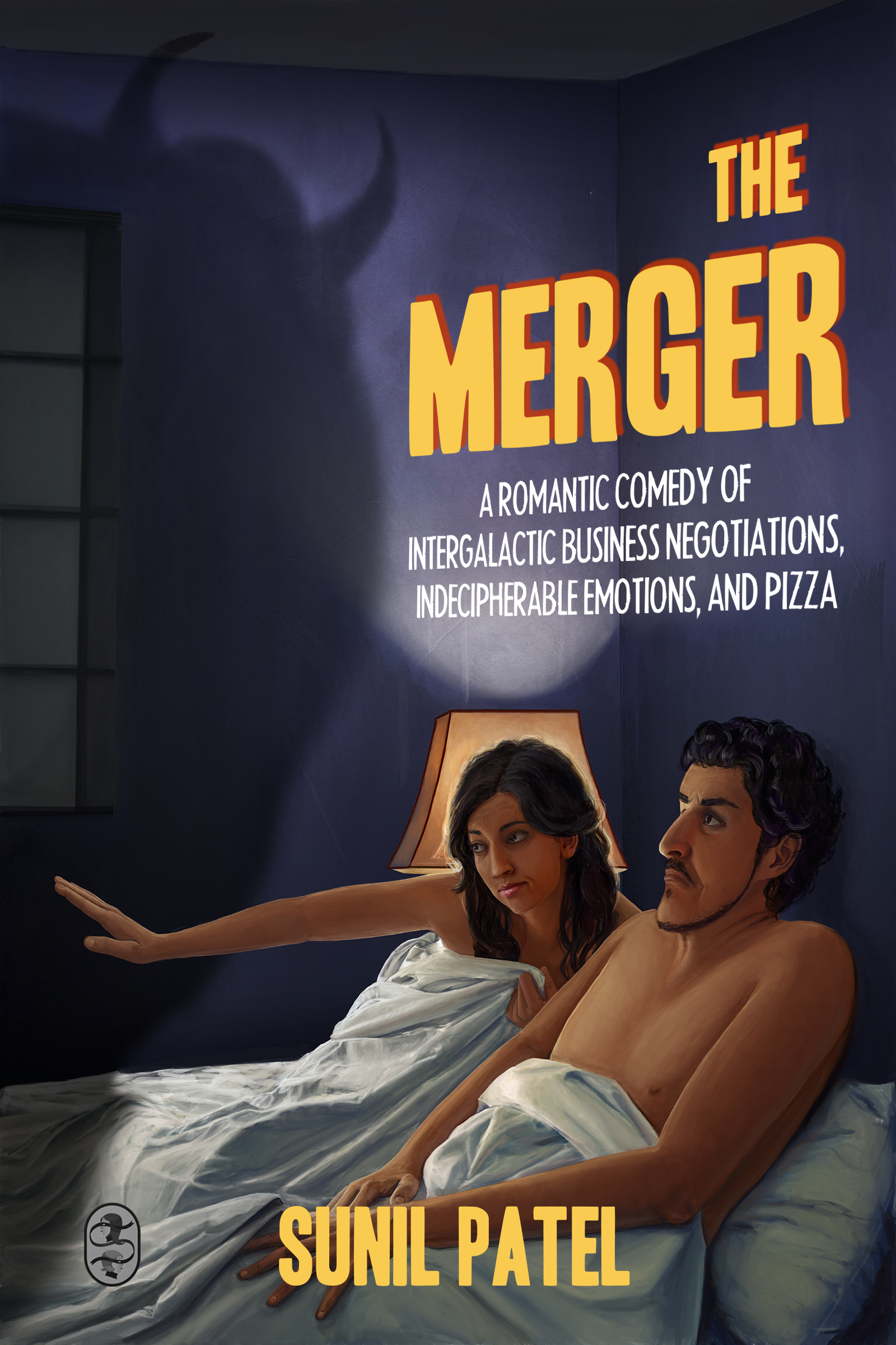 The Merger: A Romantic Comedy of Intergalactic Business Negotiations, Indecipherable Emotions, and Pizza  by  Sunil Patel