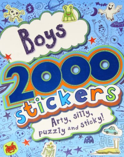 Boys 2000 Stickers  by  Parragon Books