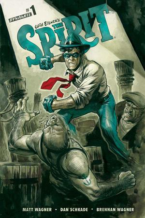 Will Eisners The Spirit #1  by  Matt Wagner
