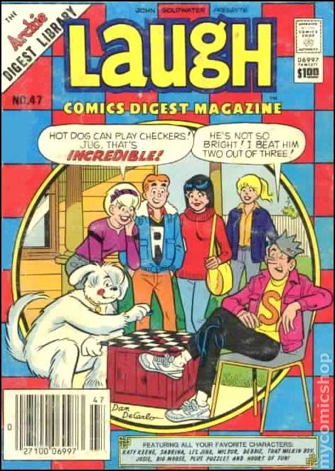 Laugh Comics Digest - The Archie Digest Library  by  John Goldwater
