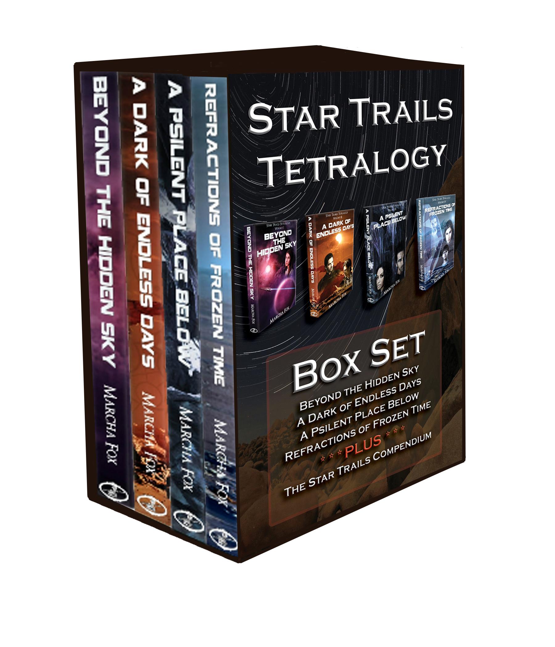 Star Trails Tetralogy Box Set  by  Marcha A. Fox
