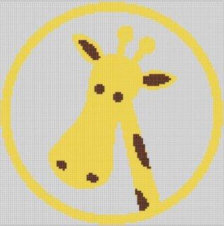 Giraffe Cross Stitch Pattern Mother Bee Designs