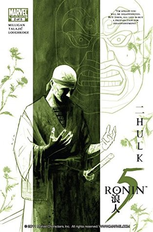 5 Ronin #2 (of 5)  by  Peter Milligan