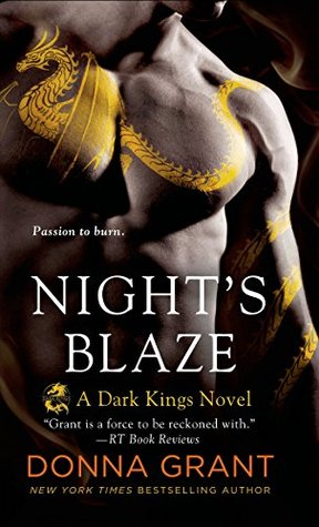 Nights Blaze (Dark Kings #5) Donna Grant