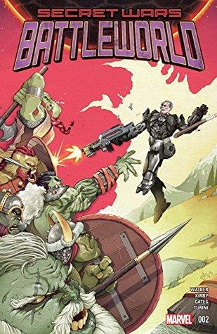 Secret Wars: Battleworld (2015) #2 (of 4)  by  David Walker
