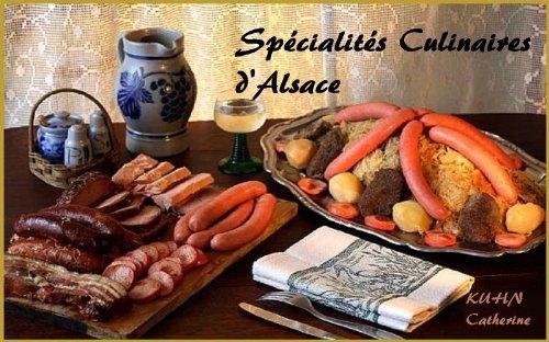 Spécialités culinaires dAlsace  by  catherine kuhn