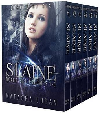 Slaine (Circle of Six, #1 -  #6)  by  Natasha Logan