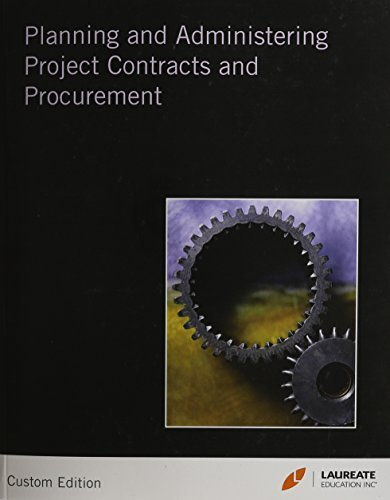 Planning and Admin Project Contracts and Procurement for Laureate  by  Wiley