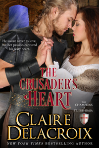 The Crusaders Heart (The Champions of Saint Euphemia, #2)  by  Claire Delacroix