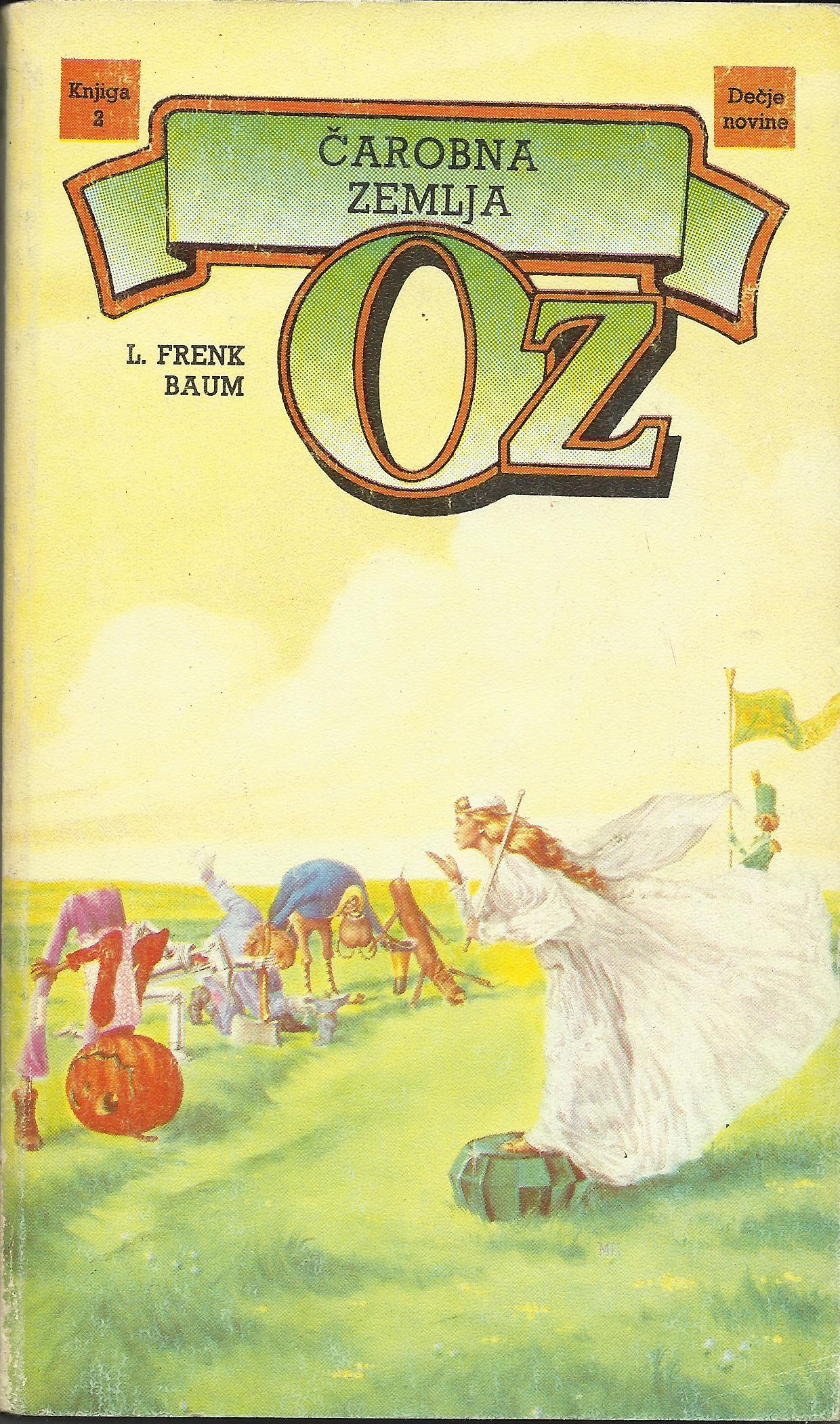 Čarobna zemlja Oz (Oz, #2)  by  L. Frank Baum
