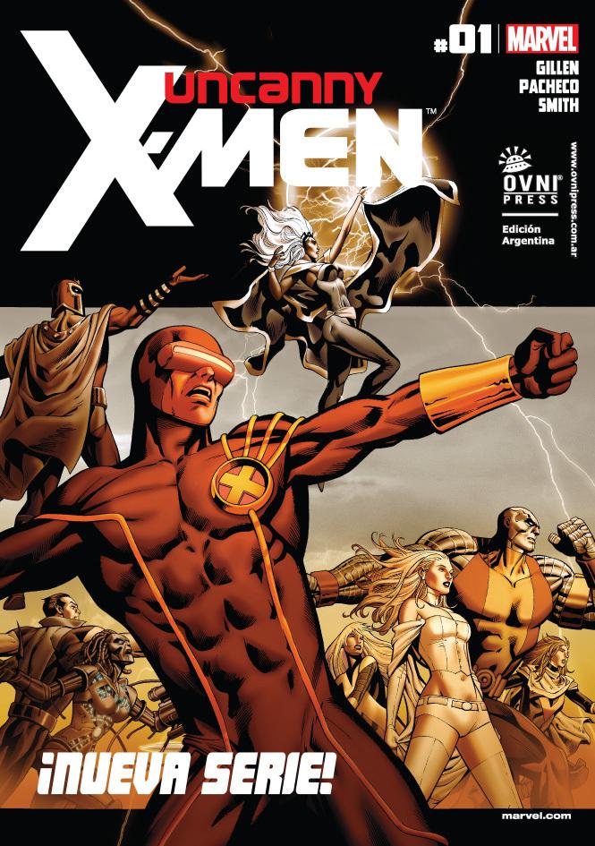 Uncanny X-Men #01: ¡Nueva serie!  by  Kieron Gillen