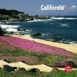 California 2012 7X7 Mini Wall Calendar  by  BrownTrout Publishers Inc