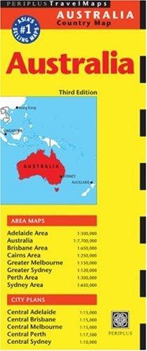 Periplus Travel Maps 2005/2006 Australia (Australia Country Map)  by  Periplus Editors