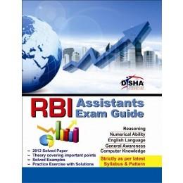 RBI Assistants Exam Guide Disha Experts