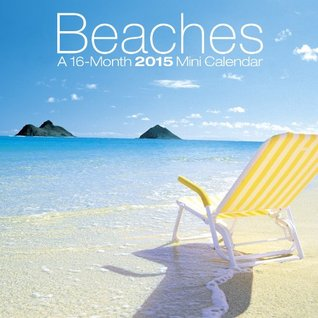 Beaches 2015 Mini 7 x 7 Calendar  by  Trends International