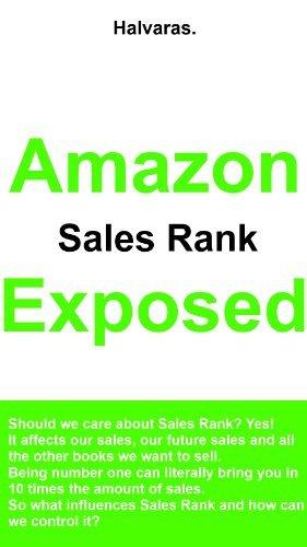Amazon Sales Rank Exposed HALVARAS