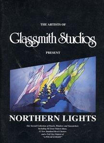 The Artist of Glassmith Studios Present NORTHERN LIGHTS Glassmith Studios