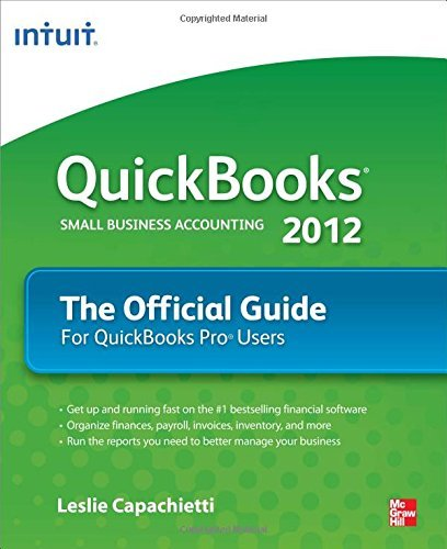 QuickBooks 2012 the Official Guide  by  Leslie Capachietti