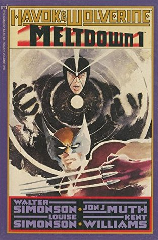 Havok and Wolverine: Meltdown #1 (of 4)  by  Louise Simonson