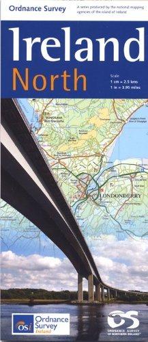 Holiday Map North 2011 Ordnance Survey of Northern Ireland