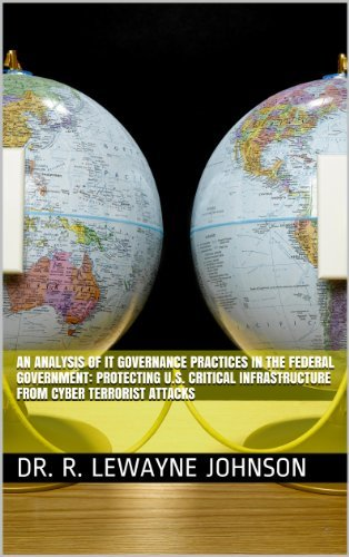 An Analysis of IT Governance Practices in the Federal Government: Protecting U.S. Critical Infrastructure from Cyber Terrorist Attacks Dr. R. LeWayne Johnson