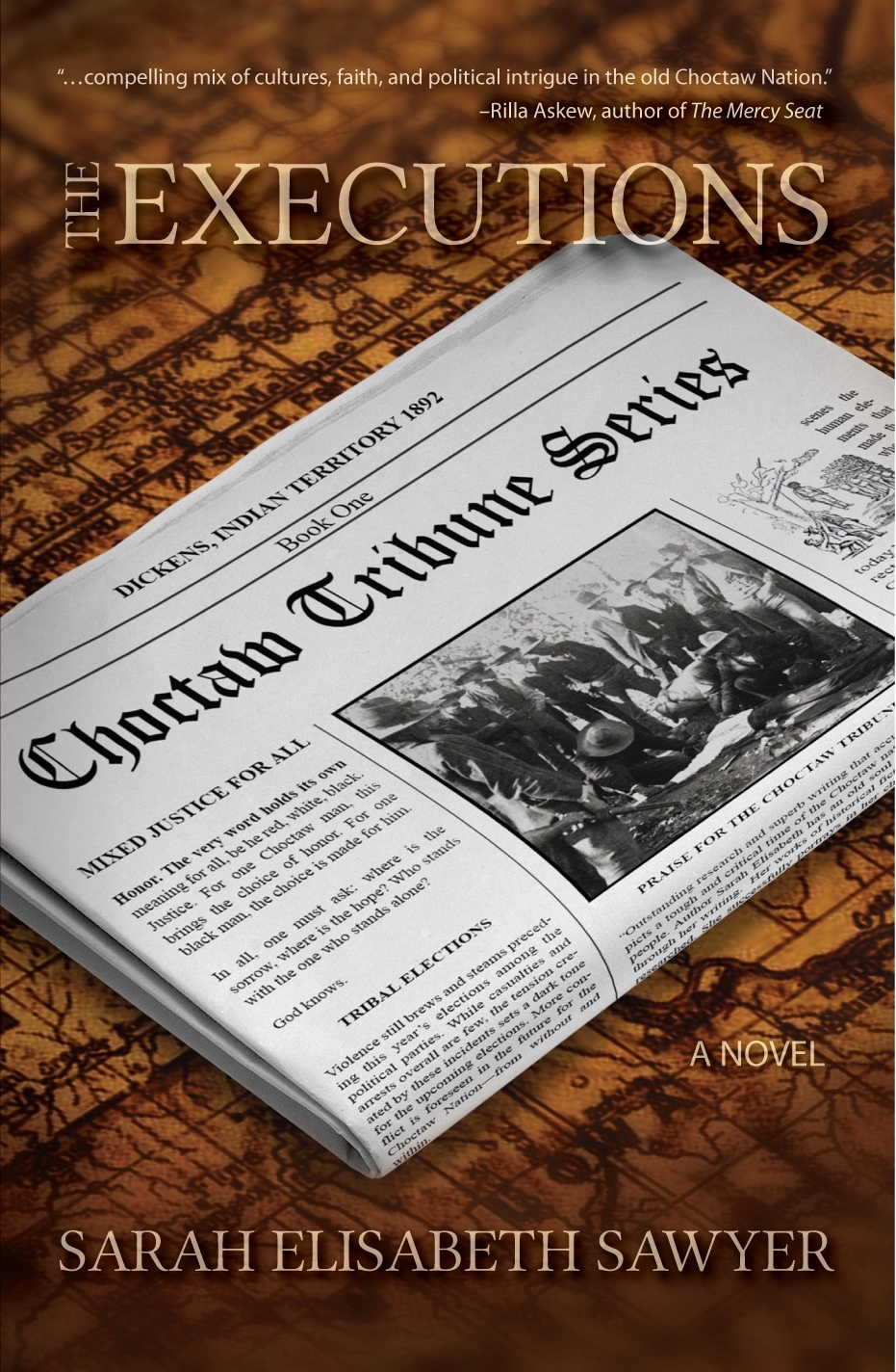 The Executions (Choctaw Tribune, #1)  by  Sarah Elisabeth Sawyer