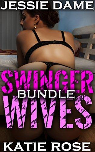 Swinger Wives: FIVE Menage Erotica Novelllas  by  Jessie Dame