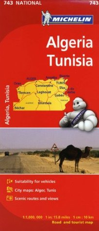 Michelin Map Africa Algeria Tunisia 743 (Maps/Country Michelin Travel & Lifestyle