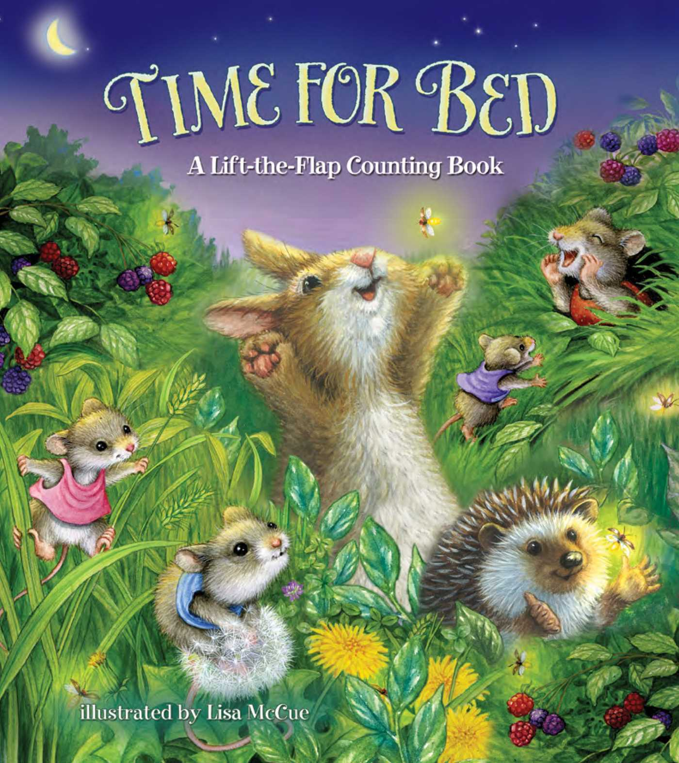 Time for Bed!: A Cozy Counting Bedtime Book  by  Lisa McCue