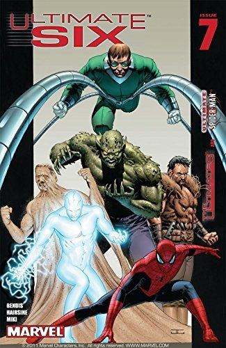 Ultimate Six #7 Brian Michael Bendis