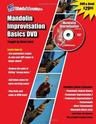 Mandolin Improvisation Basics DVD & Book Brad Laird