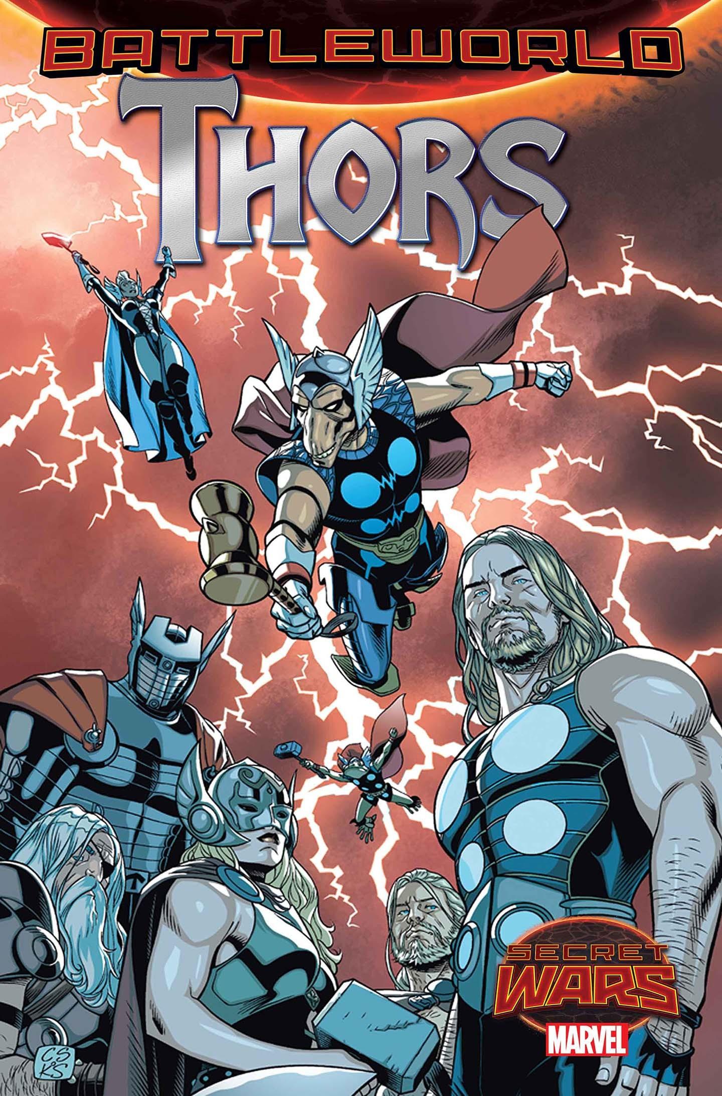 Thors #1  by  Jason Aaron