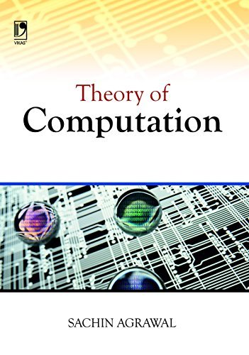THEORY OF COMPUTATION SACHIN AGGARWAL