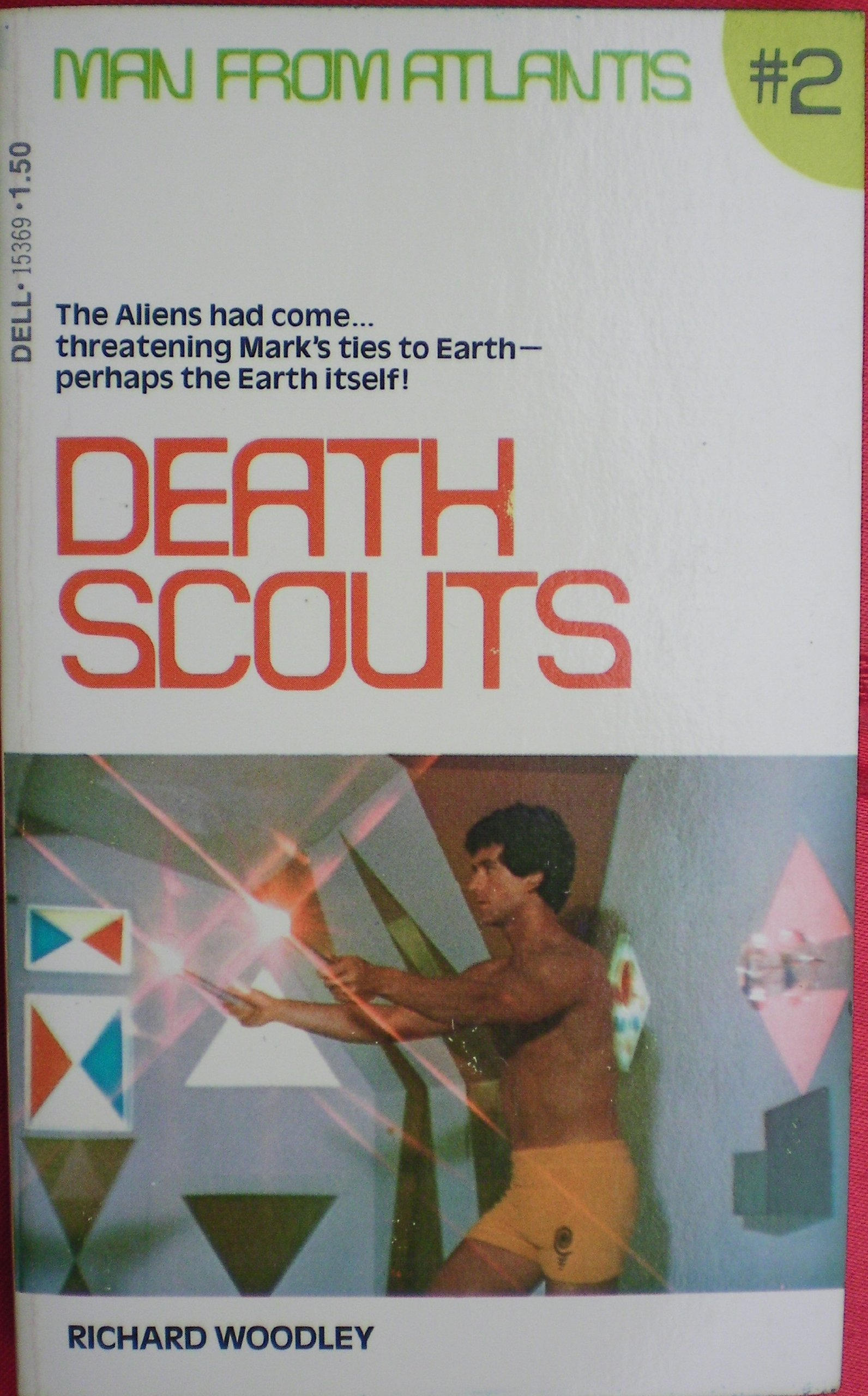 DEATH SCOUTS (MAN FROM ATLANTIS #2)  by  Richard Woodley