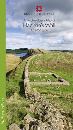 An Archaeological Map of Hadrians Wall: 1:25 000 Scale  by  English Heritage
