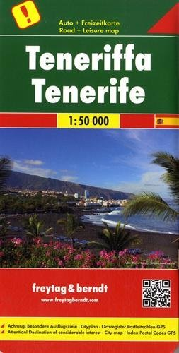 Tenerife, special places of excursion  by  Freytag-Berndt und Artaria