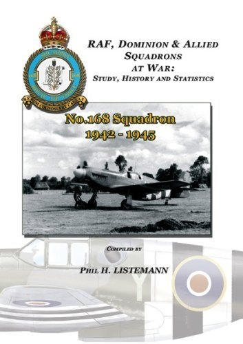 No. 168 Squadron 1942-1945  by  Phil H. Listemann