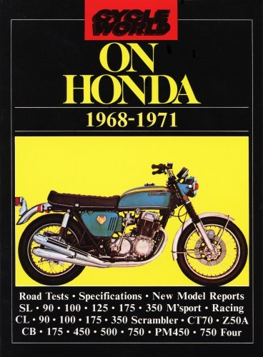 Cycle World on Honda 1968-1971 (Brooklands Books Road Tests Series)  by  R. M. Clarke