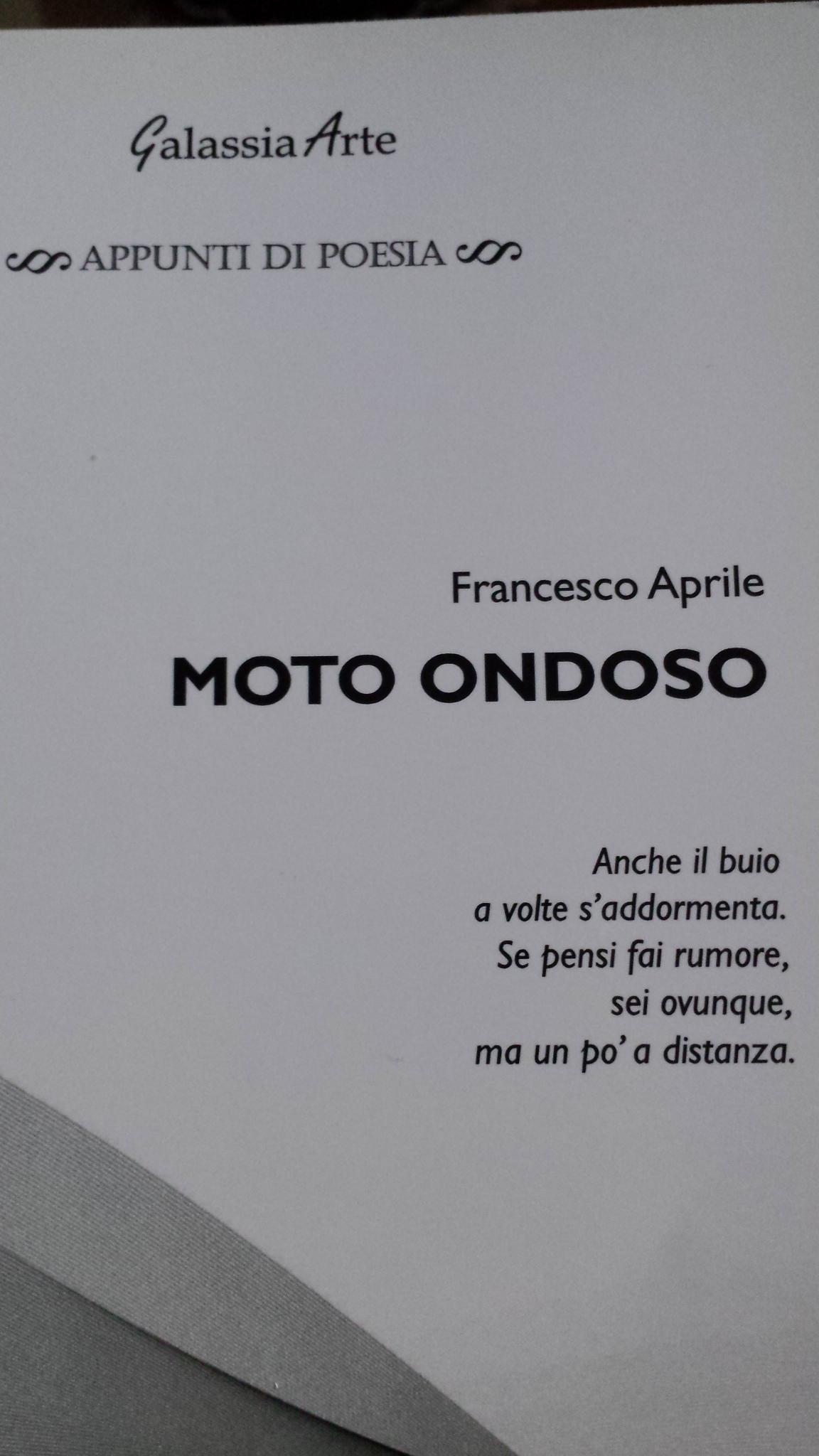Moto ondoso Francesco Aprile