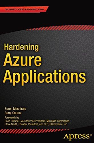 Hardening Azure Applications Suren Machiraju