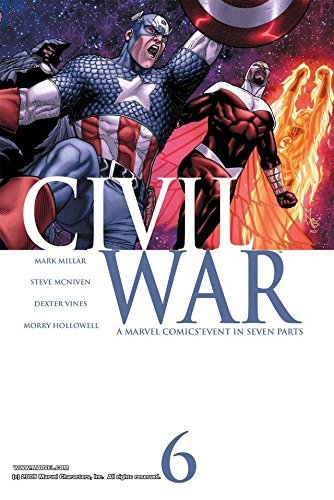 Civil War #6 (of 7) Mark Millar