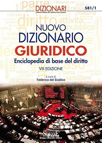 Nuovo Dizionario Giuridico  by  F. Del Giudice