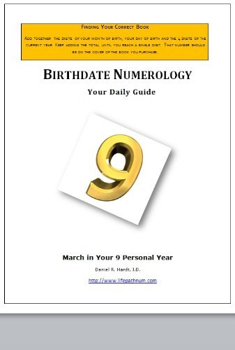Birthdate Numerology: Your March Daily Guide 9 Daniel Hardt