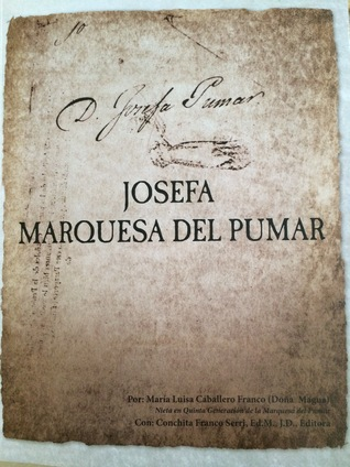 Josefa Marquesa del Pumar Caballero, Maria Luisa